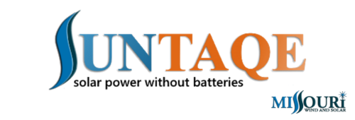 Suntaqe Power Without Batteries Logo