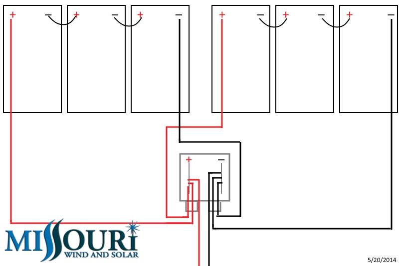 Buss Bar Combiner Box Diagram